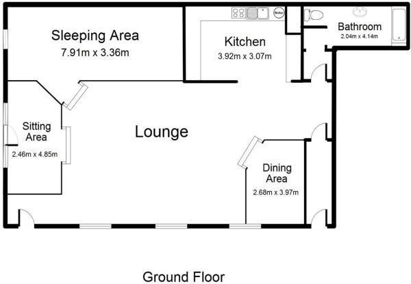 Apartment A Floorpla