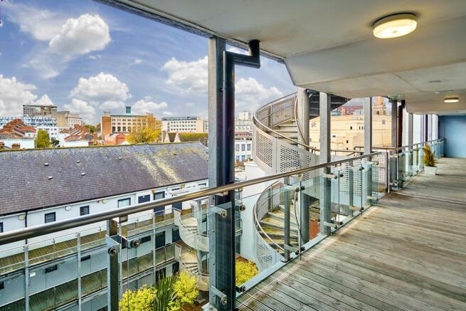 Entrance Balcony