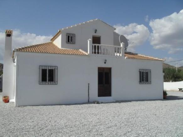 Detached property with stables