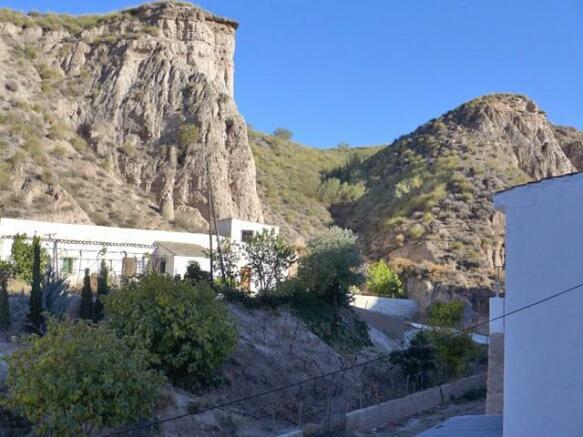View from Cueva Violeta