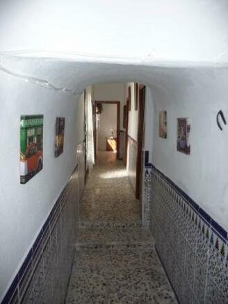 Passage way to bedrooms