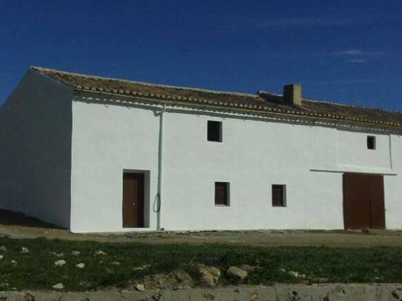 Large semi detached farmhouse