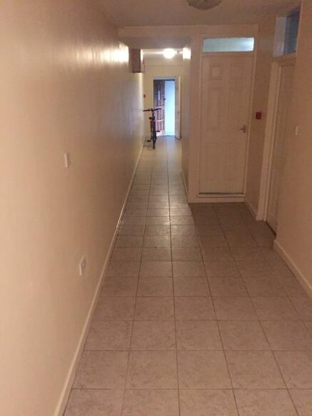 Hallway from rear