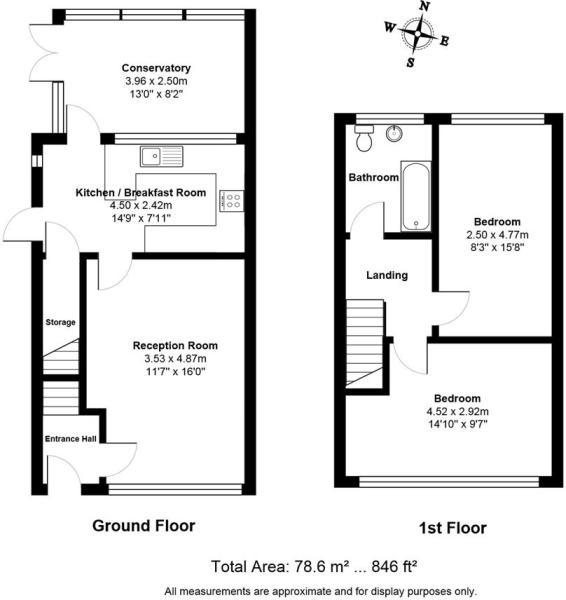 Rowan Close Floorpla