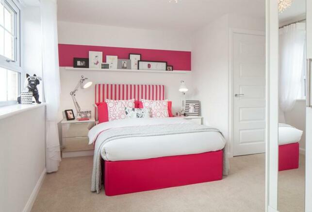 Knighton bedroom