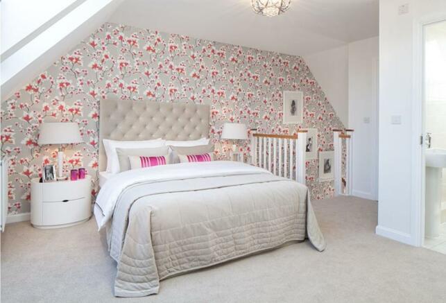 Knighton master bedroom