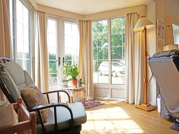 Living room doors...