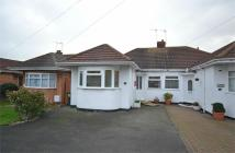 2 bedroom Semi-Detached Bungalow in Chaffcombe Road, Sheldon...