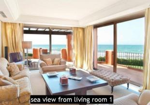 sea view from living