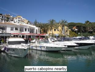 puerto cabopino near