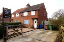 3 bed semi detached property in Eastgate, Nafferton...