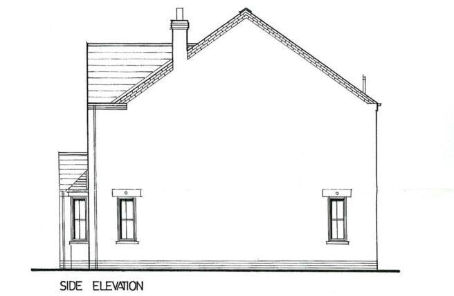 Proposed Side Elevat