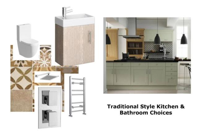 Kitchen & Bathroom Examples - Traditional Style.jp