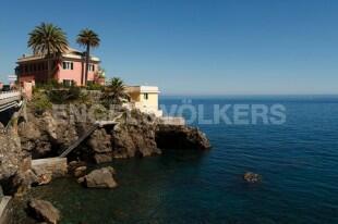 Crevari - Genova - Villa mit direktem Zugang zum Meer