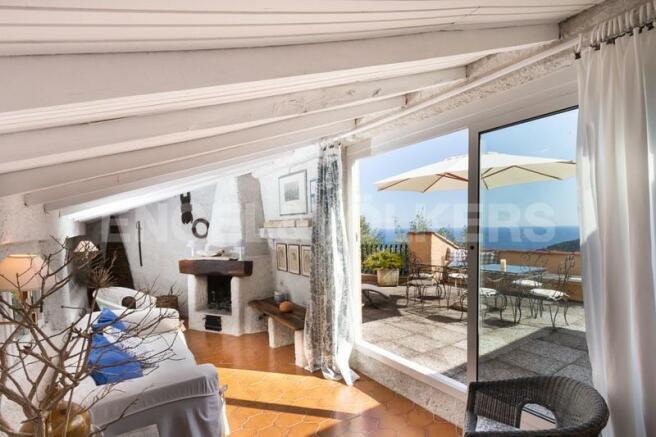Villa Finale Ligure - Vista sul terrazzo