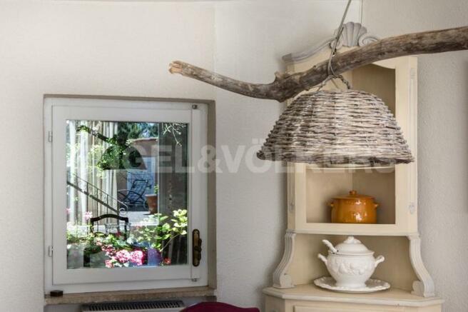 Villa Finale Ligure - Dettaglio sala da pranzo