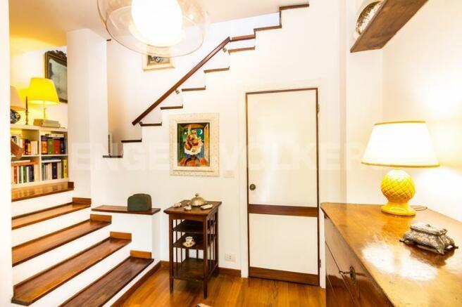 Arenzano Pineta - Eingang Penthouse