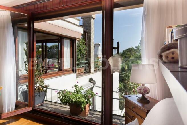 Arenzano Pineta - Penthouse, Gäste-Schlafzimmer