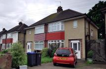 3 bed semi detached property to rent in Bridge Road, Chessington...