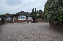 4 bed Detached Bungalow in MATLOCK WAY, New Malden...