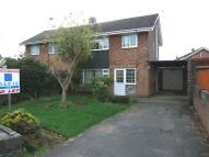 3 bed semi detached property in Tennyson Road, Caldicot...