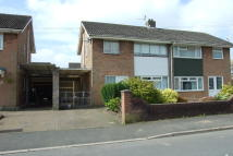 3 bedroom semi detached property to rent in Tennyson Road, Caldicot...