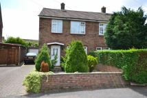 Ryecroft Crescent semi detached house for sale