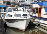 House Boat in Chelsea Harbour, Chelsea for sale