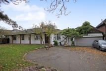 Detached Bungalow for sale in GREAT BOOKHAM