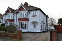 3 bed semi detached property in Lansdowne Avenue...