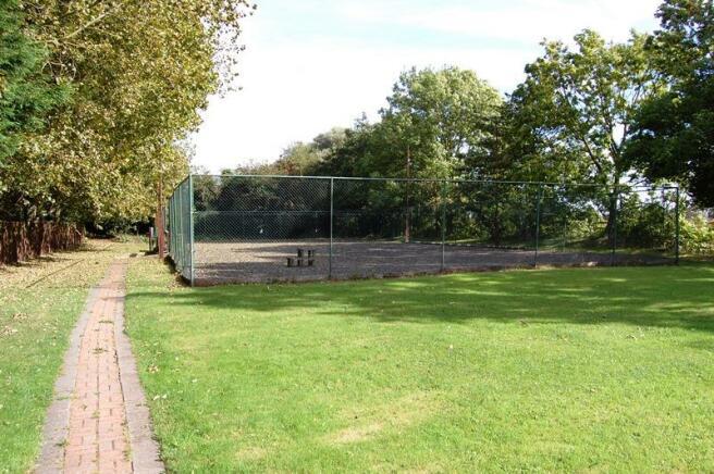 Former Tennis Court