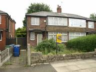 semi detached property for sale in Heys Road, Prestwich