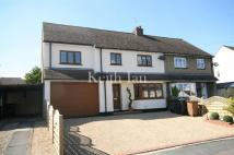 Fieldway semi detached property for sale