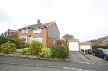 semi detached house in Clifton Way, Ware