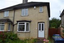 4 bed semi detached home in Stretten Avenue...