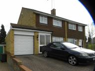 3 bed semi detached property in Holgate Drive, LUTON...
