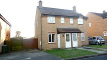 2 bed semi detached house in Redwood Drive...