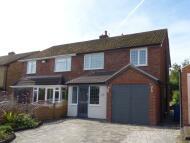 semi detached home in Ferndale Road, Lichfield