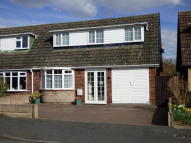 3 bed semi detached property for sale in Raven Road, Yoxall.