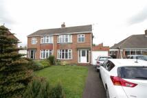 semi detached property for sale in Halton Drive...