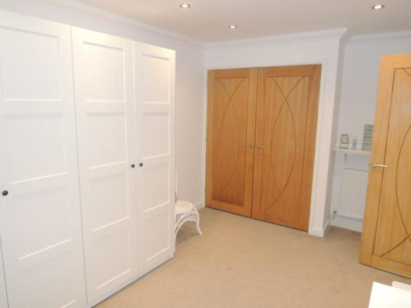 DRESSING ROOM (formerly part of garage)