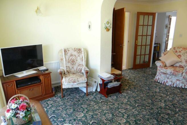 T.V. Room to Sitting Room
