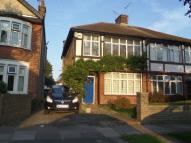 semi detached house in Castleton Road...