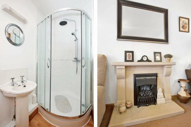 Shower/Fireplace