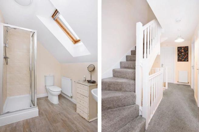Shower / Stairs