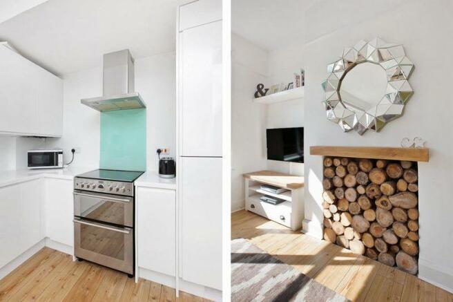 Kitchen/Fireplace