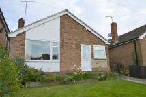 Detached Bungalow for sale in The Fleet, Belper...