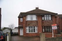 3 bedroom semi detached property to rent in Charles Avenue, Spondon...