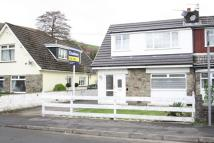 semi detached property for sale in Aberfawr Road...