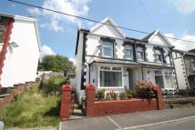 3 bedroom semi detached property in Fife Street, Abercynon